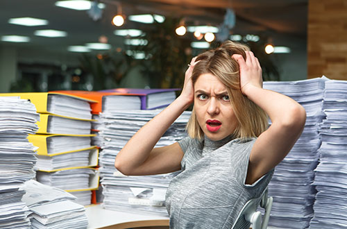 Workplace stress management