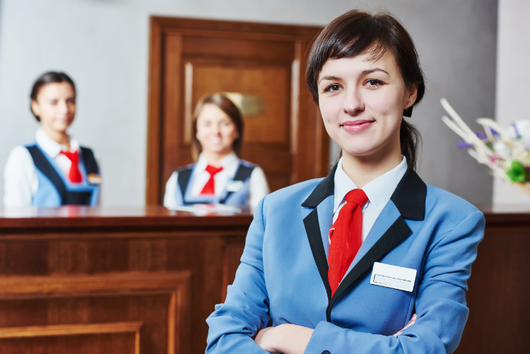Hotel Receptionists customer service training course