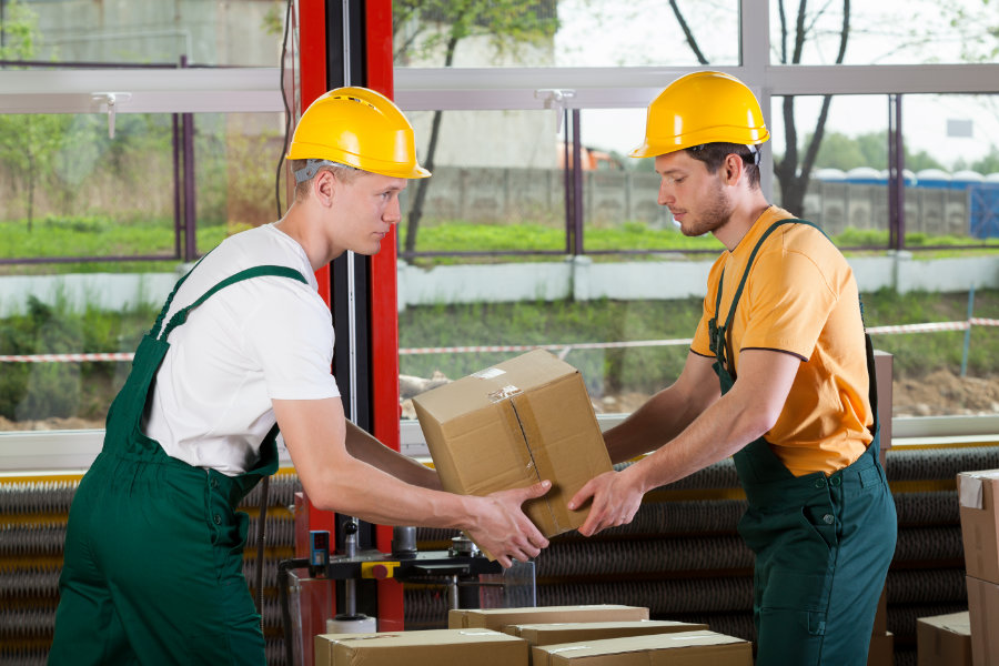 Manual handling objects sample video