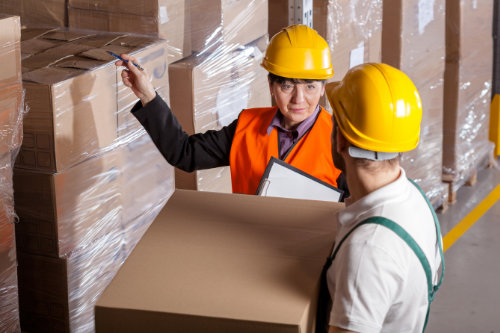 Manual handling objects training course on-site