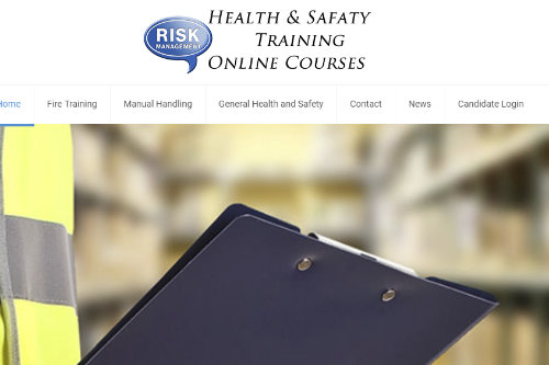 See our health & safety training website
