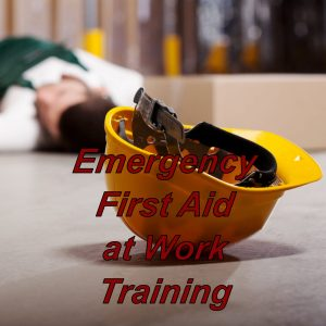 Emergency first aid at work course, online training programme