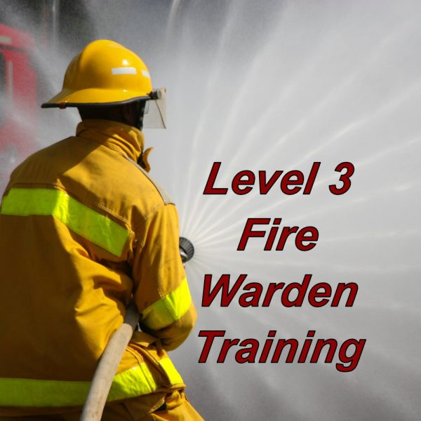 Level 3 fire warden training online, e-learning course certification, print certificate on completion