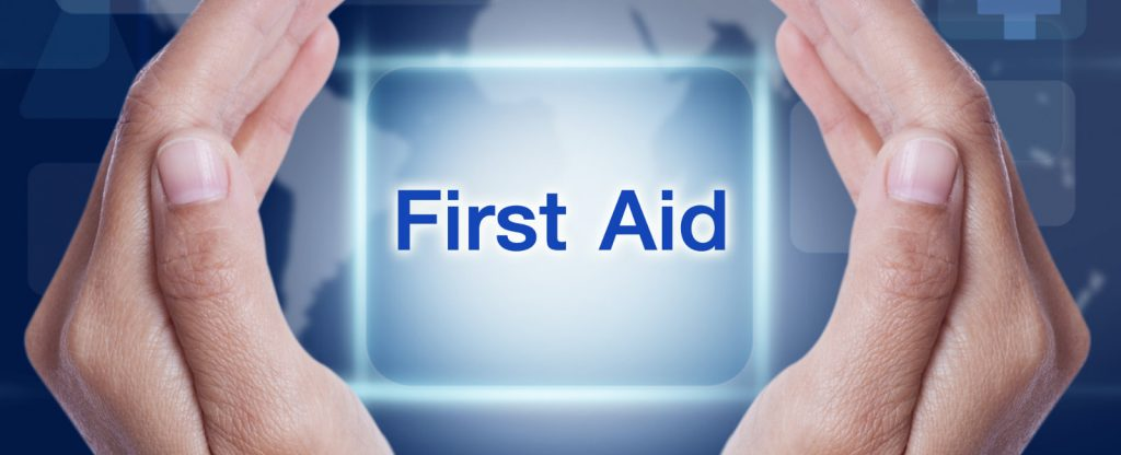 Online first aid and basic life support courses