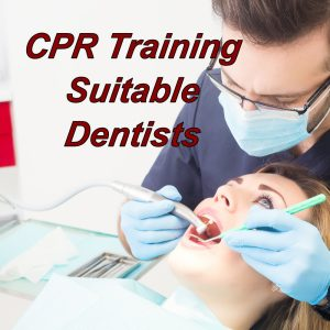 CPR training course online, suitable for dentists