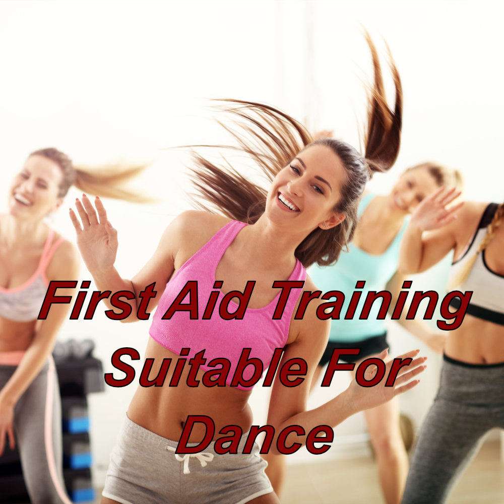 Emergency first aid training online suitable for the dance instructor